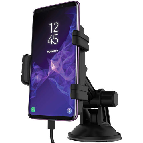 Kidigi Car Mount Holder & USB Type-C Charger for Samsung Galaxy S9